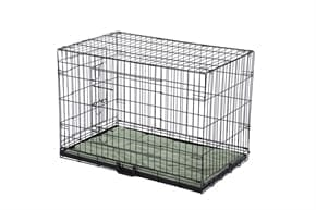 Pet Dog Crate with Bed - Large