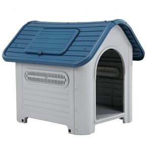 Pet Tough Large Plastic Dog Kennel