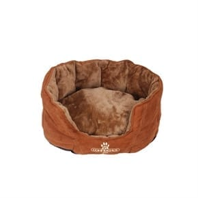 Pet Oval Pillow Top Dog Bed - Small