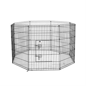 Pet Metal Dog Playpen - Large
