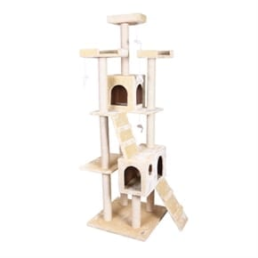 Pet Presidential Cat Tree - Beige