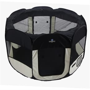 Pet Soft Fabric Playpen - Large