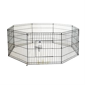 Pet Metal Dog Playpen - Small