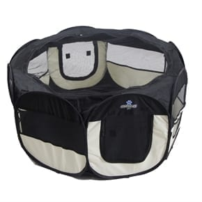 Pet Soft Fabric Playpen - Small