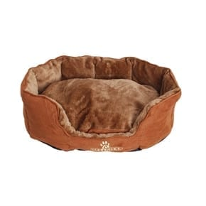 Pet Oval Pillow Top Dog Bed - Large