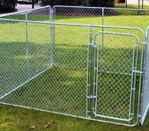 Outdoor Dog Run 02 Exercise Cage