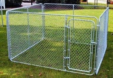 Outdoor Dog Run 02 Exercise Cage